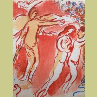 Marc Chagall Adam and Eve are Banished from Paradise