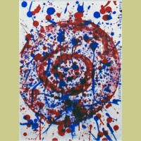 Sam Francis Round Breast of Jane Mansfield
