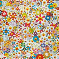 Takashi Murakami Field of Smiling Flowers