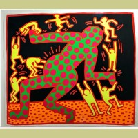 Keith Haring Fertility Plate 3