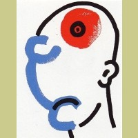 Keith Haring The Story of Red and Blue Plate 13