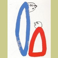 Keith Haring The Story of Red and Blue Plate 14