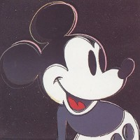 Andy Warhol Mickey Mouse