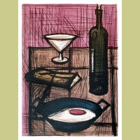 Bernard Buffet Nature Morte a l'Oeuf