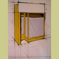 Christo Yellow Storefront