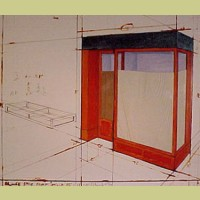 Christo Orange Storefront, Project 1964-1991