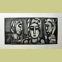 Georges Rouault Magnificat of the 3 Maries