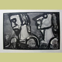 Georges Rouault Christ of the Apparition