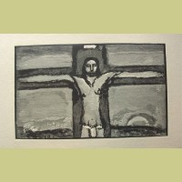 Georges Rouault Christ on the Cross