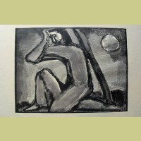 Georges Rouault Christ in Agony
