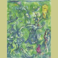 Marc Chagall Abdullah discovered before him..., from Arabian Nights