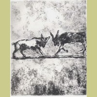 Marc Chagall The Two Goats