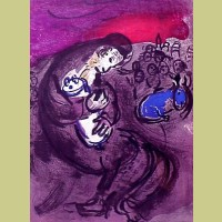 Marc Chagall Lamentations of Jeremiah