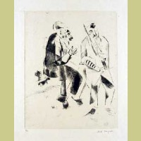 Marc Chagall The Grandfathers, from Mein Leiben