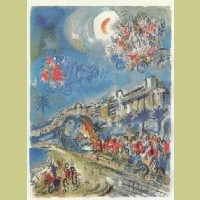 Charles Sorlier after Marc Chagall Carnaval of Flowers