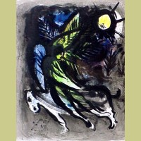 Marc Chagall The Angel