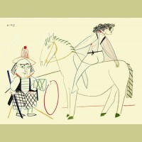 Pablo Picasso (after) Circus Rider II
