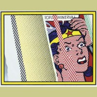 Roy Lichtenstein Reflections on Minerva