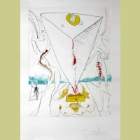 Salvador Dali Philosopher crushed by the cosmos