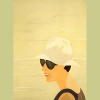 Alex Katz Margit Smiles