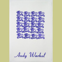 Andy Warhol Purple Cows