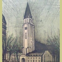 Bernard Buffet Saint Germain d'Apres