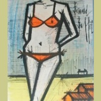 Bernard Buffet On the Beach