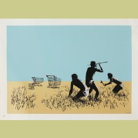 Banksy Trolleys (Colours)