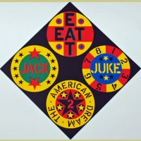 Robert Indiana Black Diamond American Dream #2