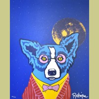 George Rodrigue Looking at Life Through Rose-Colored Glasses