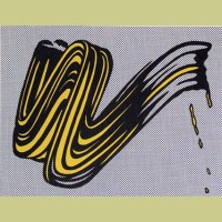 Roy Lichtenstein Brushstroke