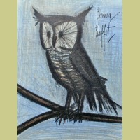 Bernard Buffet Little Owl
