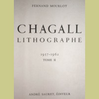 Marc Chagall Lithographe II Title Page