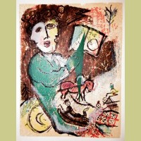 Marc Chagall Poemes Gravure I