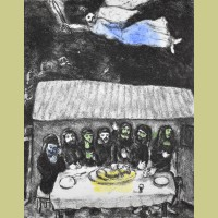 Marc Chagall The Passover Meal
