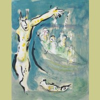 Marc Chagall In the Land of the Gods: Aeschylus