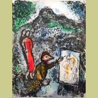 Marc Chagall Near St. Jeannet