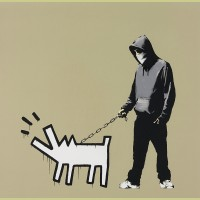 Banksy Choose Your Weapon (Khaki)