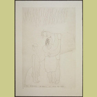 David Hockney The Marriage in Hawaii of David and Ann