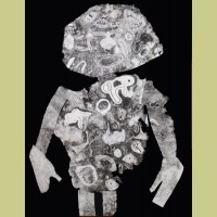 Jean Dubuffet (after) Personnage I