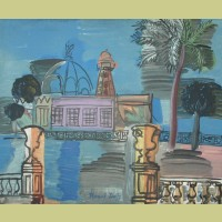 Raoul Dufy (after) Le Casino De La Jetee A Nice