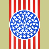 Robert Indiana New Glory Banner I