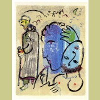 Marc Chagall Poemes Gravure XI