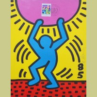 Keith Haring United Nations International Youth Year