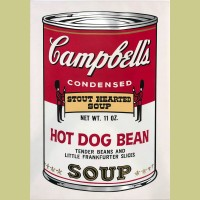 Andy Warhol Campbell's Soup II: Hot Dog Bean