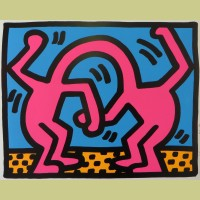 Keith Haring Pop Shop II Plate 2