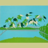 Alex Katz Late July I