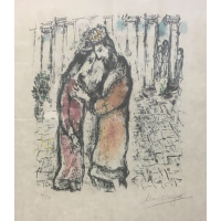 Marc Chagall David and Bathsheba