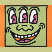 Keith Haring Icons Plate 5