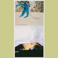 John Baldessari Jump (with Volcano)